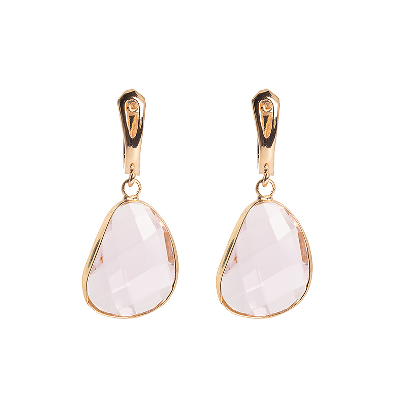 Kõrvarõngad Golden Light Pink Dangle