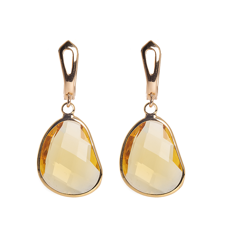 Kõrvarõngad Golden Light Yellow Dangle